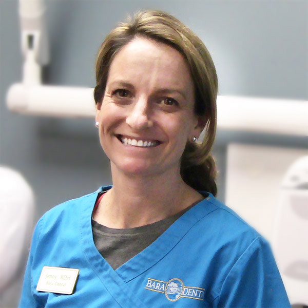 Jenny is a hygienist at Bara Dental of Hillsborough, New Hampshire.